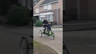 Morris heeft een nieuwe fiets!