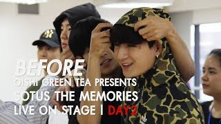 BEFORE OISHI Green Tea presents SOTUS THE MEMORIES LIVE ON STAGE | DAY.02