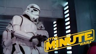 Clumsy Stormtrooper Easter Egg Explained (Behind the Scenes) - Star Wars Minute