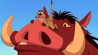 Timon e Pumbaa incontrano Simba - Il Re Leone - Clip HD