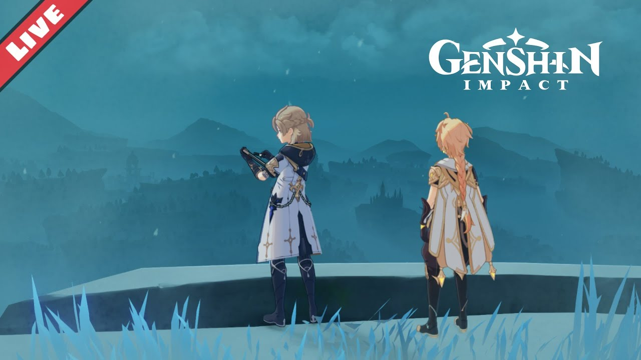 M G - Farm like crazy in Dragonspine! - Genshin Impact
