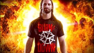 Seth Rollins Downstait Redesign Rebuild Reclaim Theme W/ Burn It Down Intro