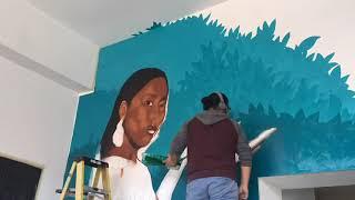 Conoce al duo Iconico de It-Ra ICONS. Dos muralistas locales de Kansas City