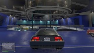 GTAV- Trying out my DeLorean : )