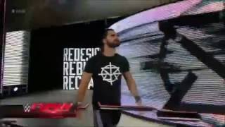 Seth Rollins new entrance 2016 - REDESIGN. REBUILD. RECLAIM.