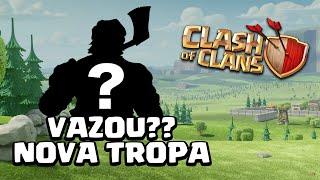 VAZOU A NOVA TROPA? CLASH OF CLANS