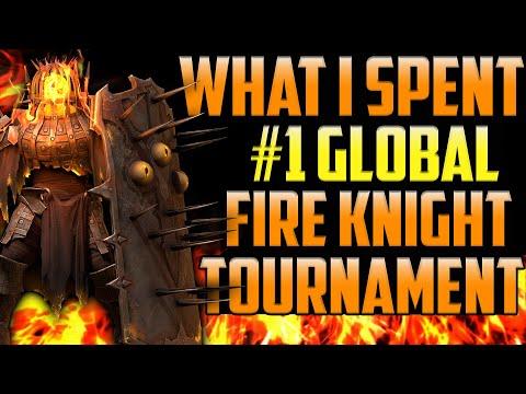 #1 Global Fire Knight Tournament Infographics I Raid Shadow Legends