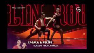 Zagala y Felipe - Imparables CHV. Tango de Roxanne, Moulin Rouge