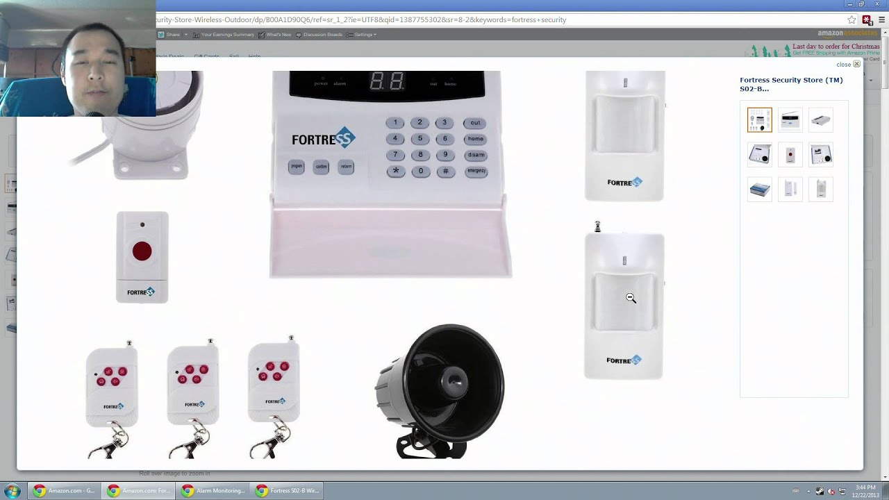 Self Monitored Home Security System Red Oak TX 75154