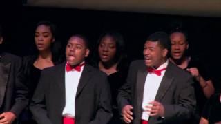 Jesus Is A Rock In A Weary Land - David W. Carter Choir width=