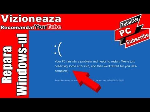 Repara Windows-ul Care Nu Mai Porneste/ FIX BOOT ERRORS