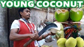 Young Coconut || Green Coconut || Cutting Skills || Dhaka || Bangladesh