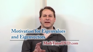 Lesson 14 - Motivation For Eigenvalues And Eigenvectors (Linear Algebra)