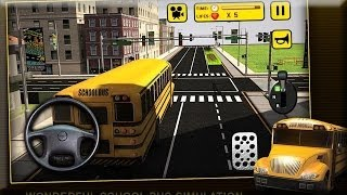 School Bus Simulator 3D Games - Android Gameplay HD