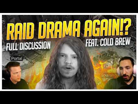 RAID Drama Again?! | FULL Discussion feat. Cold Brew!