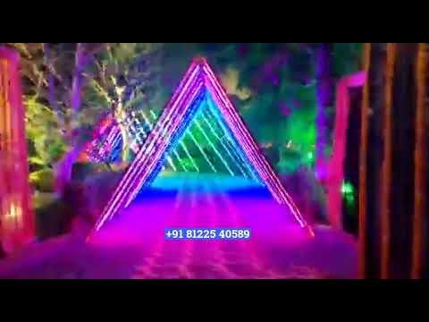 3D LED Entry Wedding Decoration Chennai | Bangalore | Coimbatore | Hyderabad +91 81225 40589