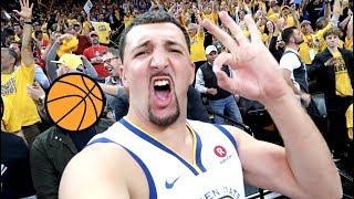 FAKE KLAY THOMPSON NBA FINALS PRANK!! width=
