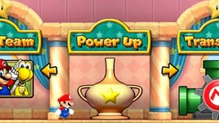 Puzzle & Dragons: Super Mario Bros. Edition - Toad House + Power Up