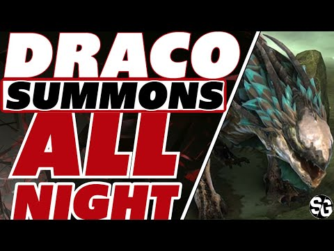 Draco drunk-o Summons! One crazy night Raid Shadow Legends Legendary summons