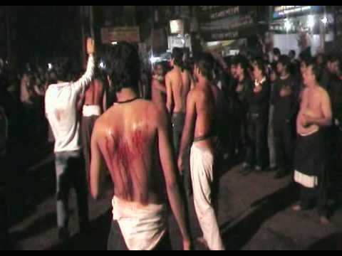 Self-flagellation – Ashura in Bangladesh 2010