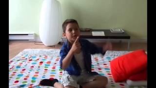 Child talking about Tibetan Reiki Energy Therapy experience