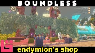 Boundless: Endymion's shop / Therka Market