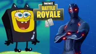 Fortnite battle royale portrayed by Spongebob (Season 4 Edition)