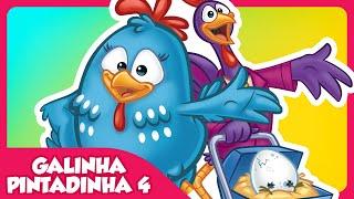 Galinha Pintadinha 4 - DVD infantil Galinha Pintadinha 4