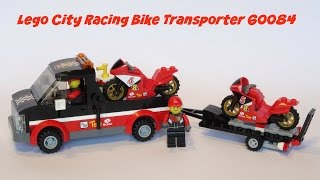LEGO City Racing Bike Transporter Set 60084 - Speed Build & Review