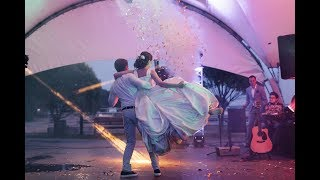 Захватывающий свадебный танец Настя и Серёжа Ed Sheeran - Give me love