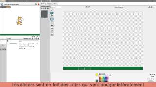 Faire un décor qui défile - Tutoriel Scratch
