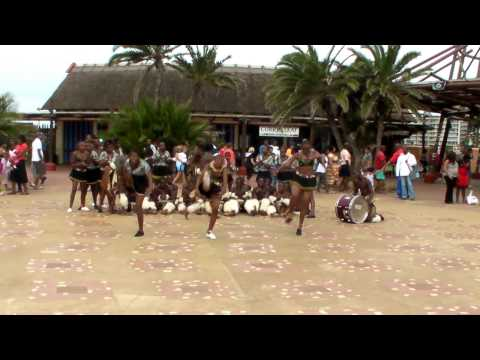 Dance of the Zulu people