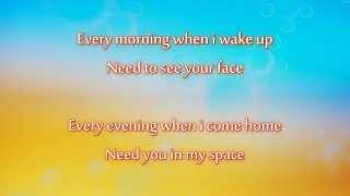 Christopher Martin - Baby I Love You (lyrics on screen)