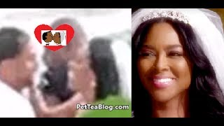 Kenya Moore #RHOA gets MARRIED to Mystery Man 🤵👰🏿 Secret Wedding in St Lucia