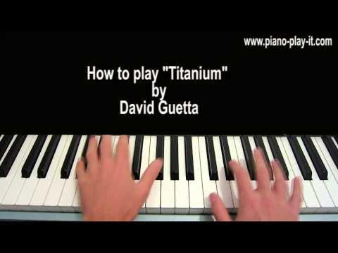 Titanium Chords Piano Titanium David Guetta Guitar Chord Chart