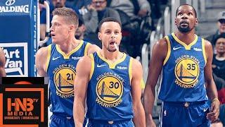 Golden State Warriors vs Detroit Pistons Full Game Highlights   12.01.2018, NBA Season