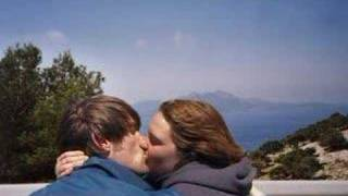 """""""Wish You Were Here"""" kissing me."""