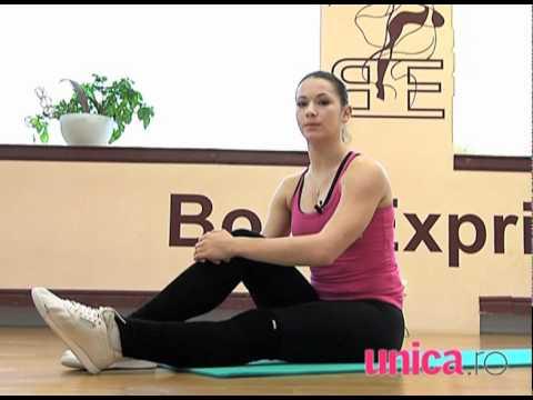 Exerciţii de Pilates pentru acasă