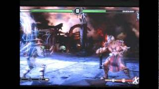 Raiden vs Shao Khan - The Easy Way