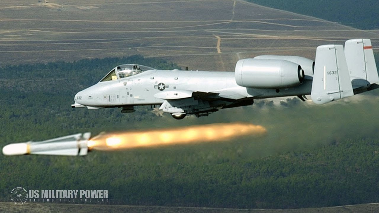 Watch This Insane Video: A-10 Warthog in Action