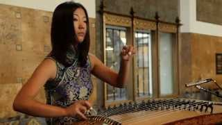 """Mad World"" Bei Bei Guzheng Live at the Union Station"