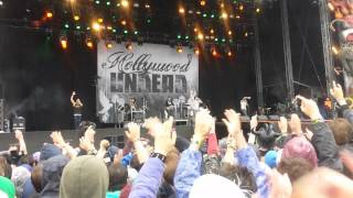 Hollywood Undead Everywhere I Go Live - Download Festival 2015