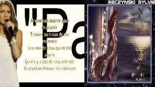 """Céline Dion """"Parler à mon père"""" lyrics"""
