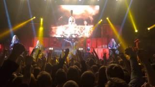 Sabaton sparta live 4K video Estonia