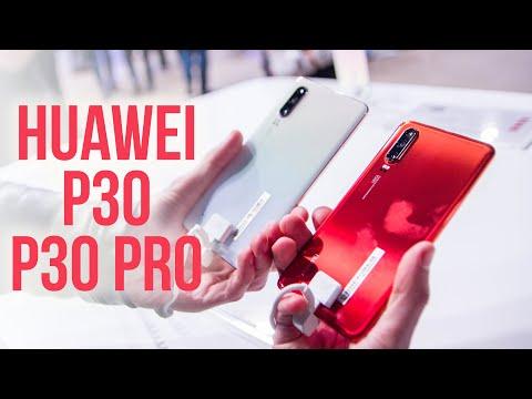 Huawei P30 Pro si P30 - Primele impresii