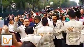 Montez De Durango Celebrando la Selección Mexicana (Copa Mundial)