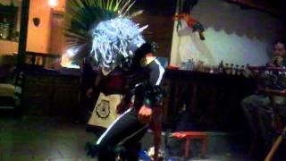 Danza prehispanica en El Mero Mexicano 22 de octubre de 2011 23:31