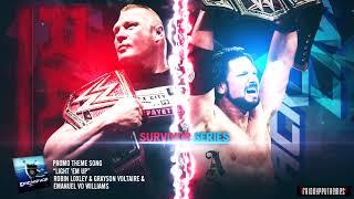 """WWE Survivor Series 2017 Brock Lesnar vs AJ Styles Promo Theme Song - """"Light 'Em Up"""" + Download Link"""
