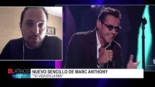 Entrevista con Santiago Castillo sobre el nuevo tema de Marc Anthony