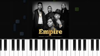 Empire Cast - ''No Doubt About It'' (feat. Jussie Smollett and Pitbull) Piano Tutorial - Chords